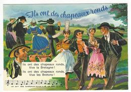 3 - ILS ONT DES CHAPEAUX RONDS. - Bretagne