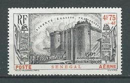 SENEGAL 1939 . Poste Aérienne N° 12 . Neuf (*) Sans Gomme . - Poste Aérienne