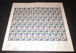 France Neuf** 1964 N° 1428  Jeux Olympiques De Tokyo Judo Feuille Complète - Feuilles Complètes