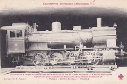 Locomotive à Vapeur Surchauffée Etat Prussien-Preuss.Staats  Locomotive Allemande- Deutsch Lokomotive - Trains