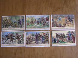 LIEBIG Les Quatre Fils Aymon Légende Histoire Renaud Bayard Mautauban Série De 6 Chromos Trading Cards Chromo - Liebig