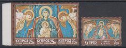 Cyprus 1970 Christmas / Weihnachten 4v ** Mnh (42905) - Ongebruikt
