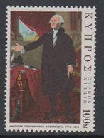 Cyprus 1976 US Bicentennial 1v ** Mnh (42905A) - Ongebruikt