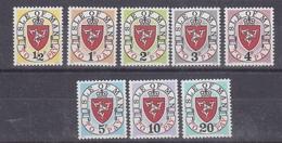 "Isle Of Man 1973 Postage Due ""1973""  No ""A""  8v ** Mnh (42906) - Man (Eiland)"
