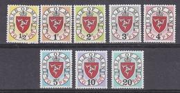 "Isle Of Man 1973 Postage Due ""1973A""  8v ** Mnh (42906A) - Man (Eiland)"