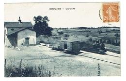 LOIRE 42 NEULISE La Gare Chemin De Fer économique - France