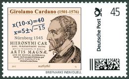 CARDANO, G. - Complex Numbers, Ars Magna  - Mathematics, Mathematician - Marke Individuell - Wissenschaften