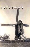 BRUSSEGEM - Merchtem (Vlaams-Brabant) - Molen/moulin - Fraaie Opname Van De Brussegemmolen, Vernield In 1914 - Merchtem