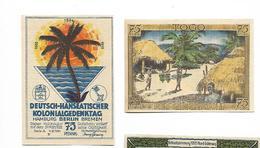 ALLEMAGNE / GERMANY - TOGO / AFRIKA  KOLONY - 75 PFENNIG 1922 / SERIE A - [12] Colonie & Banche Straniere