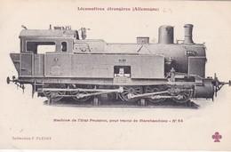 Locomotive  Etat Prussien Pour Trains De Marchandises Locomotive Allemande- Deutsch Lokomotive - Trains