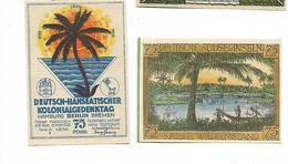 ALLEMAGNE / GERMANY - SUDSEEINSELN / AFRIKA  KOLONY - 75 PFENNIG 1922 / SERIE A - [12] Colonie & Banche Straniere
