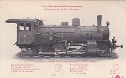 Locomotive  Mixte Locomotive Allemande- Deutsch Lokomotive - Trains