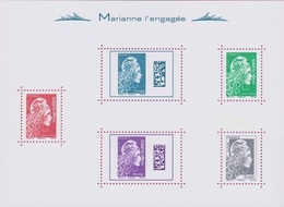 France BF N° 143 ** Marianne L'engagée - Blocs & Feuillets