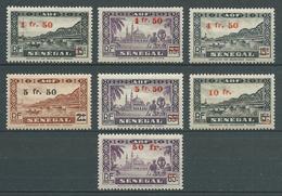 SENEGAL 1944 . Série N°s 189 à 195. Neufs ** (MNH) - Sénégal (1887-1944)