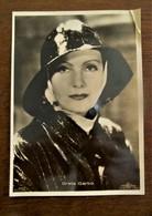 Originele Oude FOTO -- Postkaart  GRETA  GARBO - Femmes Célèbres