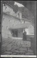 ASSISI - EREMO DELLE CARCERI - IL CHIOSTRO - FORMATO PICCOLO - VIAGGIATA 1933 - Chiese E Conventi