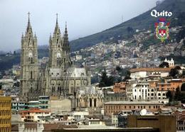 Ecuador Quito National Vow Basilica New Postcard Ekuador AK - Ecuador