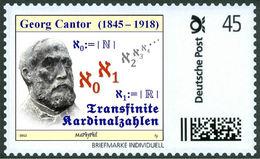 CANTOR, G. - Transfinite Cardinal Numbers - Mathematician, Mathematics -  Marke Individuell - Wissenschaften