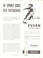 """PUB   """" EVIAN  """"   1959 ( 2 ) - Other"""