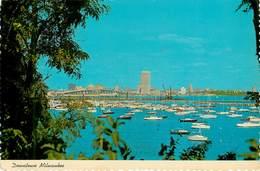 Etats-Unis - Wisconsin - Downton Milwaukee Taken From The South Milwaukee Yacht Club - Semi Moderne Grand Format - état - Milwaukee
