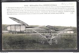 1467 AVIATION AV010 AK PC CPA HELICOPTERE PAUL CORNU A LISIEUX NON CIRCULER  EDITHAUSER  TTB - ....-1914: Precursori