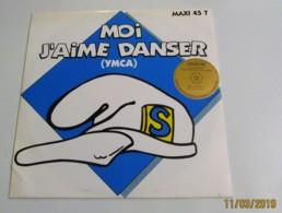 MAXI 45T Moi J'aime Danser - 45 T - Maxi-Single