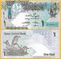 Qatar 1 Riyal P-28(2) 2008 UNC Banknote - Qatar
