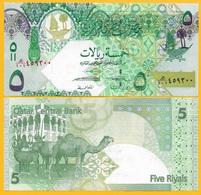 Qatar 5 Riyals P-29(2) 2008 UNC Banknote - Qatar