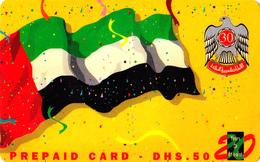 Carte Prepaid UAE Émirats Arabes Unis 50DHS - Verenigde Arabische Emiraten