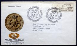 Greenland 1975  25 Years Sledge Patrol Sirius   Minr.95  FDC ( Lot Ks ) - FDC