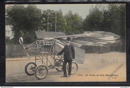 1468  AV11 AK PC CPA M VUIA ET SON AEROPLANE NON CIRCULER TTB - ....-1914: Precursori