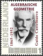 CASTELNUOVO, G. - Italian Mathematician - Algebraic Geometry - Mathematics - Individual Stamp - Wissenschaften