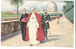 Roma - Sua Santità Nei Giardini Vaticani V. 1932 (3452) - Parks & Gardens