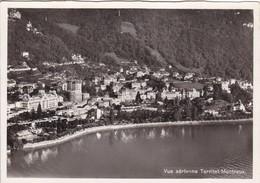 Luftaufnahme, Territet - Montreux - VD Vaud