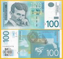 Serbia 100 Dinara P-57a 2012 UNC Banknote - Serbie