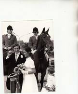 Mechelen Keerbergen Paardensport Eric Wauters & Y. Changy Persfoto 18 X 13 Cm Mei 1976 - Sports