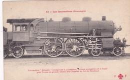 Locomotive Atlantic Compound  Palatinat Locomotive Allemande- Deutsch Lokomotive - Trains