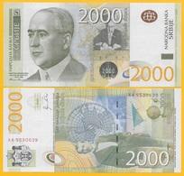 Serbia 2000 Dinara P-61a 2011 UNC Banknote - Serbia