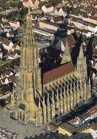 1 AK Germany * Das Münster In Ulm - Der 1890 Vollendete 161,60 Meter Hohe Turm Ist Der Höchste Kirchturm Der Welt * - Ulm