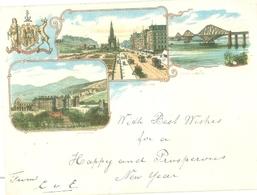 Edinburgh 1898; Multi View - Circulated. Read Description! - Midlothian/ Edinburgh