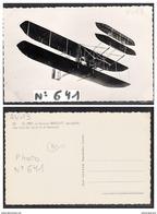 3910  AVIATION AV013 AK PC CARTE PHOTO641 WRIGHT DE LEFEBURE NON CIRCULER TTB - ....-1914: Precursori