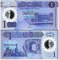 Libya - 1 Dinar 2019 UNC Polymer - Eritrea