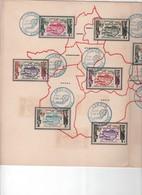"""Document Commémoratif Document Commémoratif """"Fondation D'Air Afrique"""" 26 Juin 1961 - Numéroté - Tirage Limité N°19 - Airplanes"""