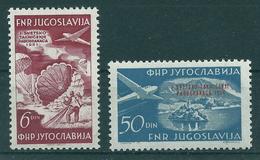 Jugoslawien 666/667 ** - 1945-1992 République Fédérative Populaire De Yougoslavie