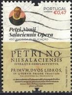 Portugal 2016 Oblitéré Used Publication Des Travaux Pedro Nunes Petri Nonii Salaciensis Opera SU - 1910-... République