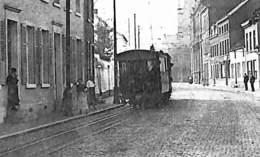 Boussu - Rue François Dorzée (Melles Durez, Animée Tram Tramway 1925... Voir Zoom) - Boussu