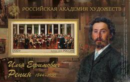 Russia 2019 Artist Repin S/S MNH - 1992-.... Federazione