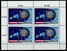 ÖSTERREICH 2002 Nr 2368KB Postfrisch X71131E - Blocks & Kleinbögen