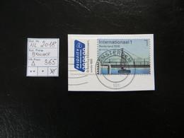 """2018  """" Brücke """" Auf Ausschnitt, Vollstempel AMSTERDAM   LOT 365 - 2013-... (Willem-Alexander)"""