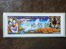 2008 LISA1 SALON DU TIMBRE ET DE L'ECRIT PARIS  0,55€ (vendue à La Valeur Faciale)  ** MNH - 1999-2009 Vignettes Illustrées